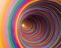 Радуга, свернувшаяся рулетиком - симоронский образ