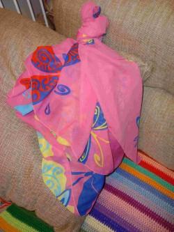 кукла из платка - работа с ожиданиями