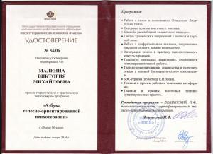 Сертификат Телеска